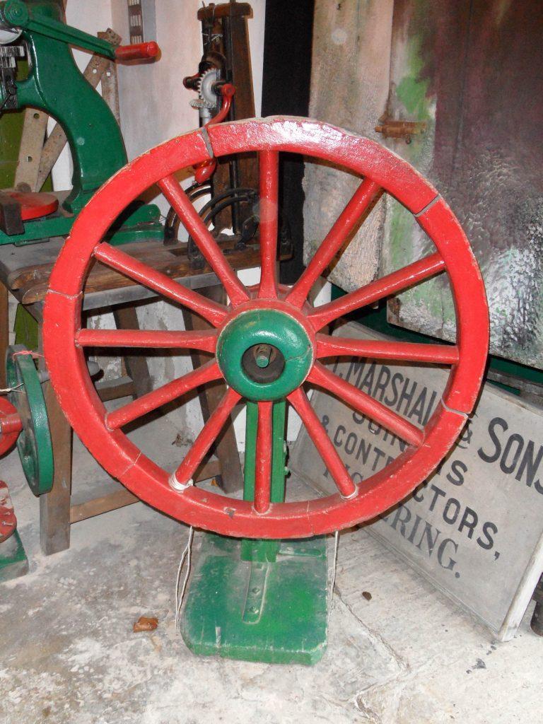 The wheel horse
